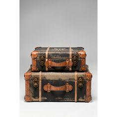 Διακοσμητικά Ράφια Suitcase Aviation Διακοσμητικά ράφια βαλίτσα, με τεχνητή παλαίωση. Υλικό: MDF, λινό, σίδηρο, polyurethane. Union Jack, Decorative Boxes, Home Decor, Style, Swag, Decoration Home, Room Decor, Home Interior Design, Decorative Storage Boxes