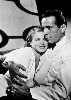 Posters & Prints Ingrid Bergman Smiling Humphrey Bogart Casablanca Embracing Photo Or Poster & Garden Humphrey Bogart, Bogart And Bacall, Film Casablanca, Ingrid Bergman Casablanca, Old Movie Stars, Classic Movie Stars, Classic Films, Beau Film, Best Actress