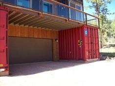 41 Best Shipping Container Garage Images Shipping Containers