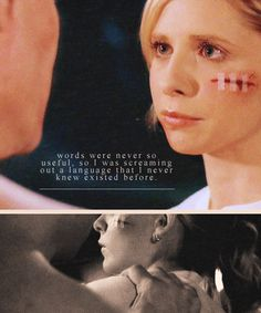 It really makes me angry that Buffy didn't die with Spike. Whedon had been telling us that Buffy loved Spike in season 7, it was subtle, but there, and she didn't even contradict him in the end. She had the chance to prove that a slayer can love. And Spike said in season 5 that every Slayer wants to die at some point. This was Buffy's moment to die. The war was over, there were other slayers, those she loved were safe. Except for Spike. SHE SHOULD HAVE DIED.