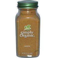 Simply Organic, Cumin, 2.31 oz (65 g) - iHerb.com
