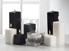 black+candles | Black pillar candles