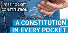 FREE Pocket Constitution - ACLU Sponsored! Everyone needs this! ⋆ The Best…