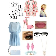 A fashion look from July 2015 by reject2000 featuring Chicwish, Quiz, ALDO, MICHAEL Michael Kors, Devoted, Amrita Singh, Aéropostale, She's So and Disney