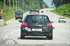 Part Renault Test Drive - The Megane Megane R26, Clio Rs, Driving Test, Badge, Rolling Carts, Badges