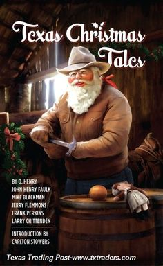 "Start a family tradition with our ""Texas Christmas Tales"""