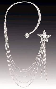 Chanel 1932 Collection - Etoile Filante Necklace - House of Chanel (French, founded 1913) - Design by Gabrielle 'Coco' Chanel
