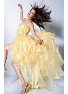 $231.49 Gorgeous #A-Line Asymmetry #Sweetheart Prom/Homecoming #Dress