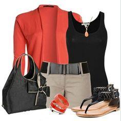 #naranja #negro