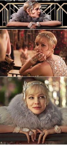 The many looks of Daisy Buchanan of The Great Gatsby