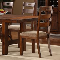 Shop for Swindon Rustic Oak Classic Dining Chair by TRIBECCA HOME (Set of 2). Get free shipping at Overstock.com - Your Online Furniture Outlet Store! Get 5% in rewards with Club O!