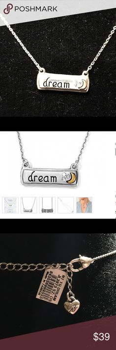 "Brighton dream necklace Follow your dreams necklace. 16""-18"" adjustable..NWT Brighton Jewelry Necklaces"