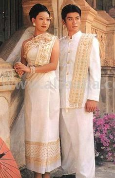 1000 images about thai women in government on pinterest for Thai style wedding dress
