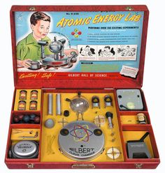 Gilbert's Atomic Energy Lab was the most sophisticated science kit of its time, but it was available only from 1951 to 1952.