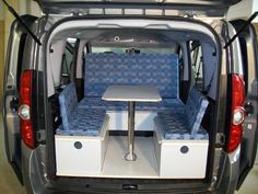 camping module for smaller vans other vans pinterest. Black Bedroom Furniture Sets. Home Design Ideas