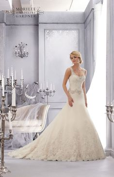 15 elegant dresses for a winter wedding – Style 2688 by Mori Lee