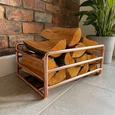 Wooden Garden Wall Bar With Copper Pipe   Etsy Copper Pipe Shelves, Serving Table, Reclaimed Timber, Wall Bar, Close To Home, Wooden Garden, Amazing Gardens, Wooden Boxes, Pallet Projects