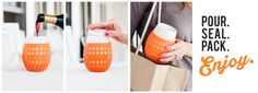 ITS WINE O'CLOCK SOMEWHERE ″...THE CLASSIEST SIPPY CUPS EVER.″ -Oprah Magazine June 2016  #giftables #gifts #giftidea