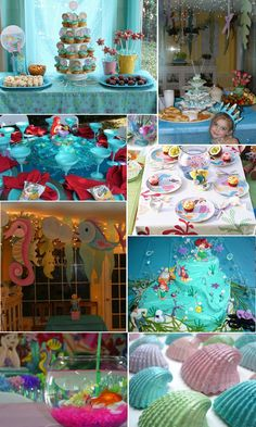 ARIEL PARTY! i would of flipped out if i had this when i was little