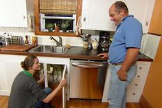 Hook up a new dishwasher in your kitchen with help from This Old House plumbing and heating expert Richard Trethewey