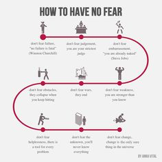 How to Have No Fear  thought 10, 2015