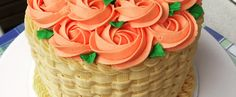 American Style Motiv Buttercream Cake