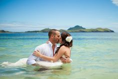 Fiji Trash the Dress  |  Photo by: Malia Johnson Photography
