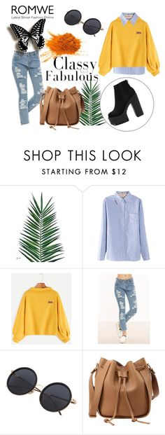 """Romwe"" by miny008 on Polyvore featuring moda i Nika"