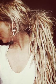 dread on girls are so cute... well only if you can pull it off. lol