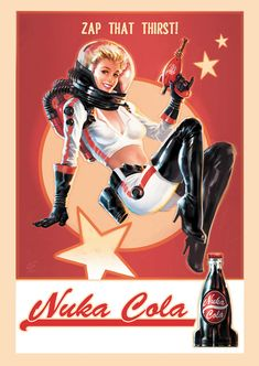 Nuka Cola Pin-up