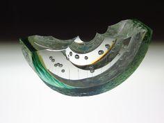 STEVEN WEINBERG | Cast Glass Sculpture by Steven Weinberg at Schantz Galleries