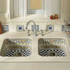 Moroccan Sink #morocco #moroccan #sink #design #culture #tiles