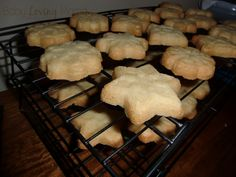 I've done plain sugar and chocolate shortbread in these molds.  Very simple with just a glaze is all it needs.