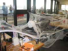 Need some ideas for pranks to pull at the office? Then you need to check out Bustle's 4 Now go on and scare your favorite co-worker 🎃 Pranks To Pull, Halloween Pranks, The Office, Productivity, Lol, News, Check, Products, Gadget