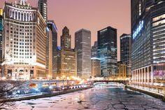 Popular on 500px : Chicago River Ice by TatianaPesotskaya