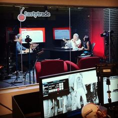 Coming to you live from our brand new studio! Good morning, tastytraders! http://instagram.com/tastytrade #tastygram