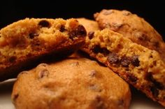 Pumpking chocolate chip cookies, I need to make some this Fall, they are delicious!