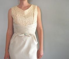 lace and pleating