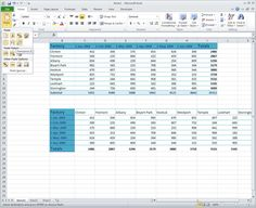 Insert a Transposed Copy of a Table with Two Mouse Clicks