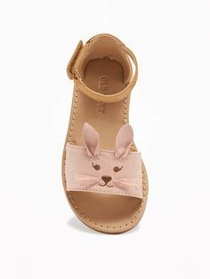 Sueded Bunny Sandal | Old Navy