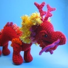 Amigurumi Dragon Etsy : 1000+ images about Year of the Dragon Crafts on Pinterest ...