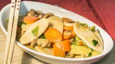 Foto Gnocchi di Riso con Verdure e Salsa di Soia