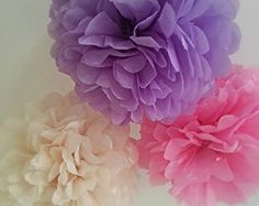 Four 14 girls birthday party decorations tissue paper