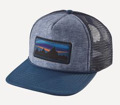 50a845d3203 The time-honored Patagonia Fitz Roy Banner Interstate Hat is a  polyester-foam front