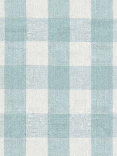 DecoratorsBest - Detail1 - LCF65850F - OLD FORGE GINGHAM - POOL/WHITE - Fabrics - - DecoratorsBest