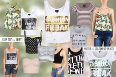 Crop Shirts HOW TO STYLE