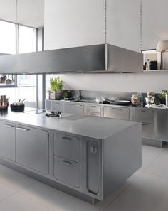 Küche Aus Edelstahl Für Gewerbe EGO By ABIMIS By PRISMA | Design Alberto  Torsello | Küche | Pinterest | Stainless Steel Kitchen, Kitchens And Steel