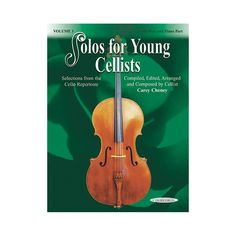 Alfred Solos for Young Cellists Vol. 1 Cello Pts And Piano Accomp