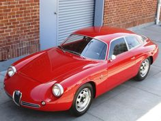 "1962 Alfa Romeo Giulietta Sprint Zagato II ""Coda Tronca"""