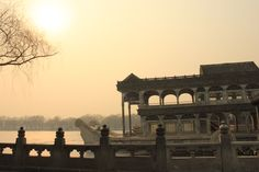 Marble boat, summer palace, Beijing.